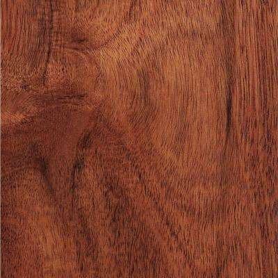 Hand Scraped Teak Amber Acacia 3/8 in. T x 4-3/4 in. W x Varying Length Click Lock Hardwood Flooring (24.94 sq.ft./case)