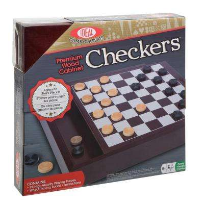 Premium Wood Cabinet Checkers