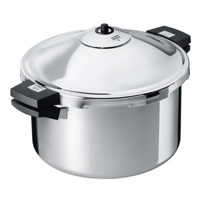 DUROMATIC 8.45 Qt. Stainless Steel Stovetop Pressure Cooker