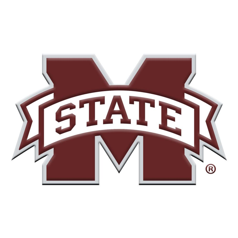 Ms State University >> Fanmats 3 In X 3 2 In Ncaa Mississippi State University Color Emblem