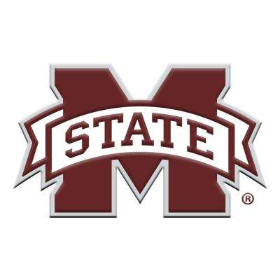 3 in. x 3.2 in. NCAA Mississippi State University Color Emblem