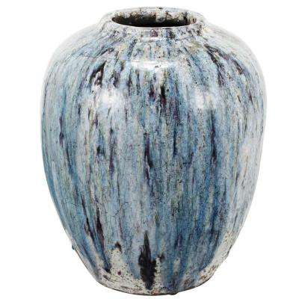 13 in. x 16 in. Terracotta Vase
