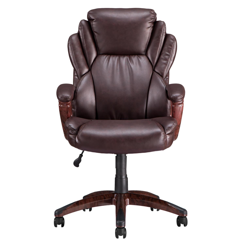 Deals on Boyel Living Executive Office Adjustable Ergonomic Computer Chair