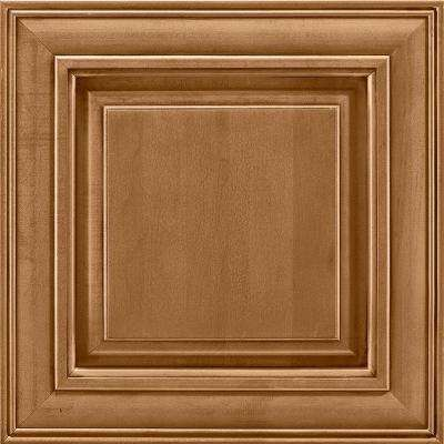 14-9/16x14-1/2 in. Cabinet Door Sample in Savannah Maple Mocha Glaze