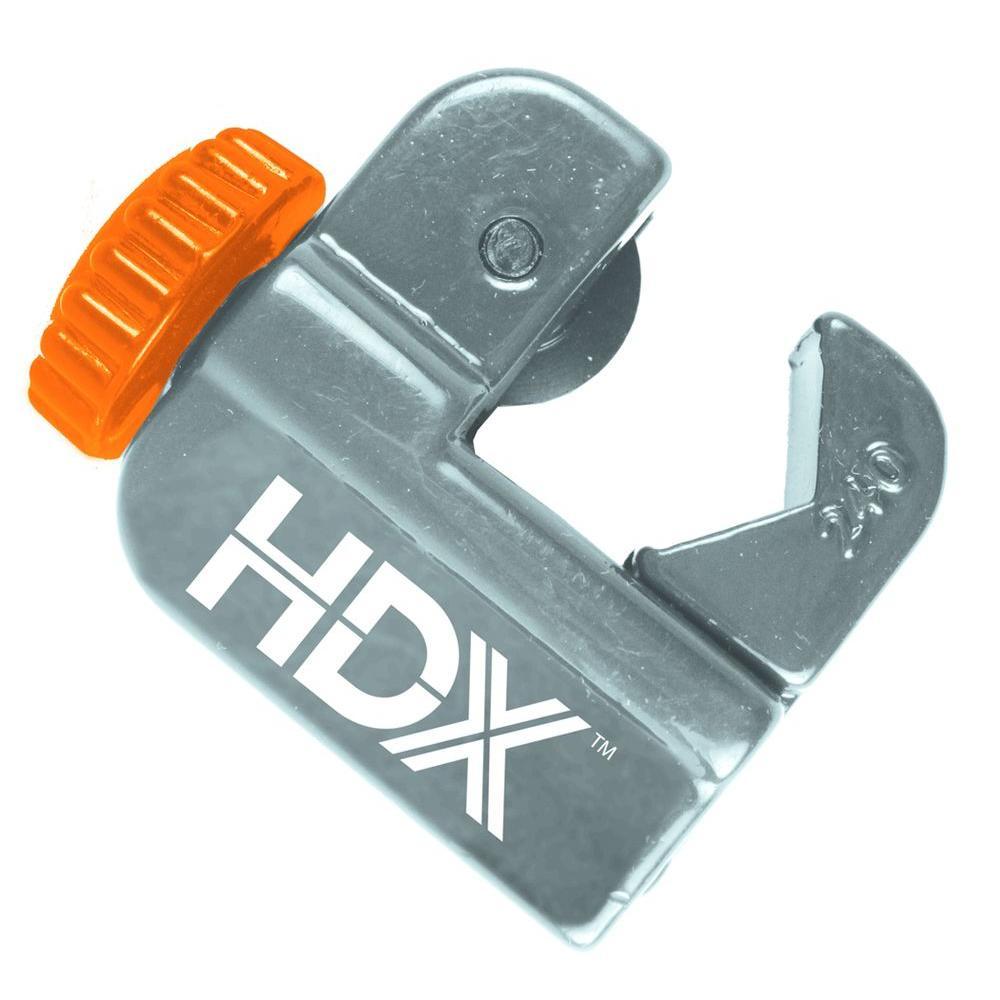 Hdx Junior Tube Cutter Hdx003 The Home Depot