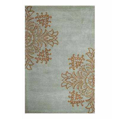 Tempo Blue 5 ft. x 8 ft. Area Rug