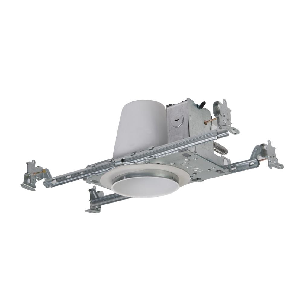 Recessed Lighting In Insulation Contact : Halo h in steel recessed lighting housing for new