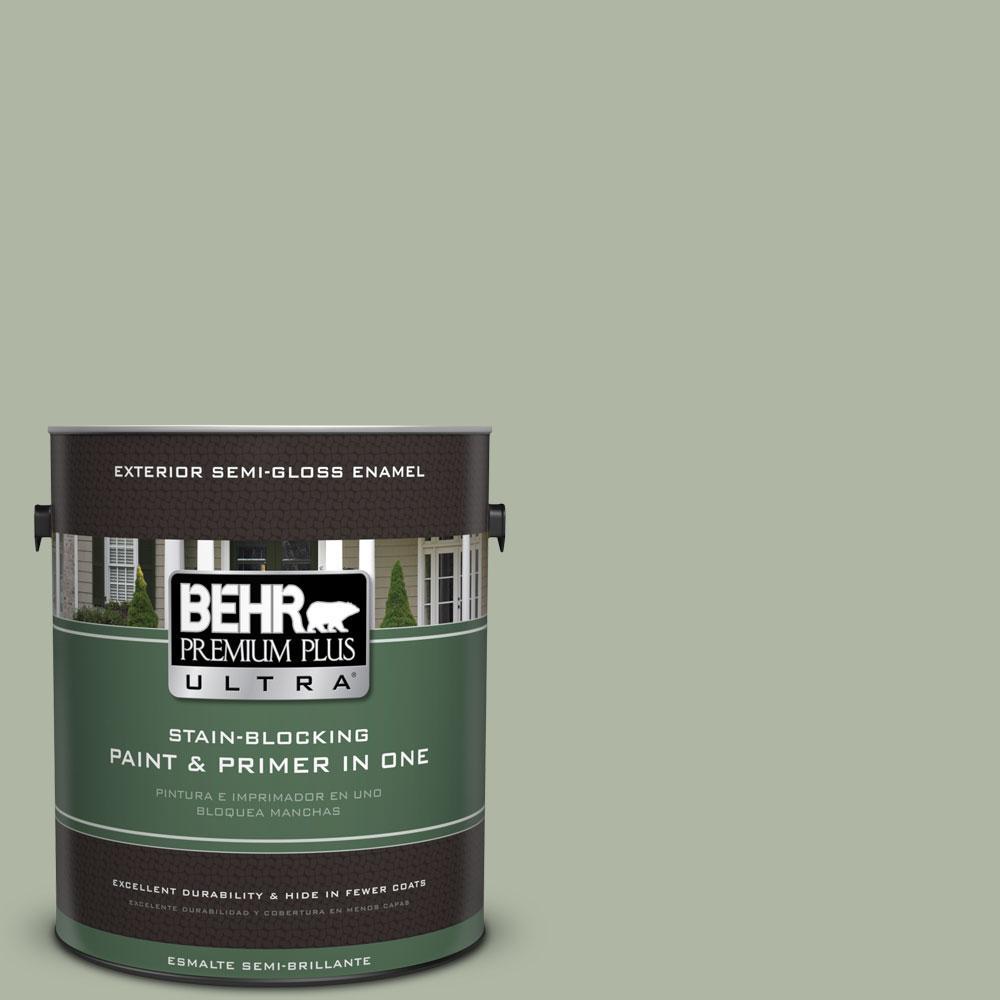 BEHR Premium Plus Ultra 1-gal. #PPU11-9 Environmental Semi-Gloss Enamel Exterior Paint