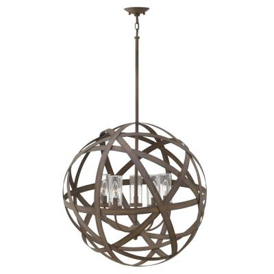 Carson Vintage Iron 5-Light Outdoor Chandelier