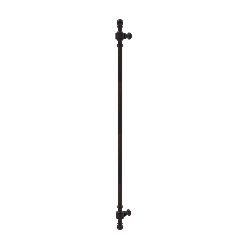 Retro Dot Collection 18 in. Beaded Refrigerator Pull in Venetian Bronze