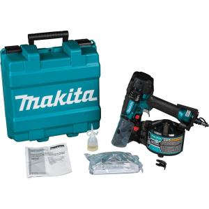 Makita 2-1/2 inch High Pressure Pneumatic 15-Degree Siding Coil Nailer by Makita