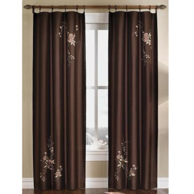 Image result for AUBERGINE EMBROIDERED CURTAINS