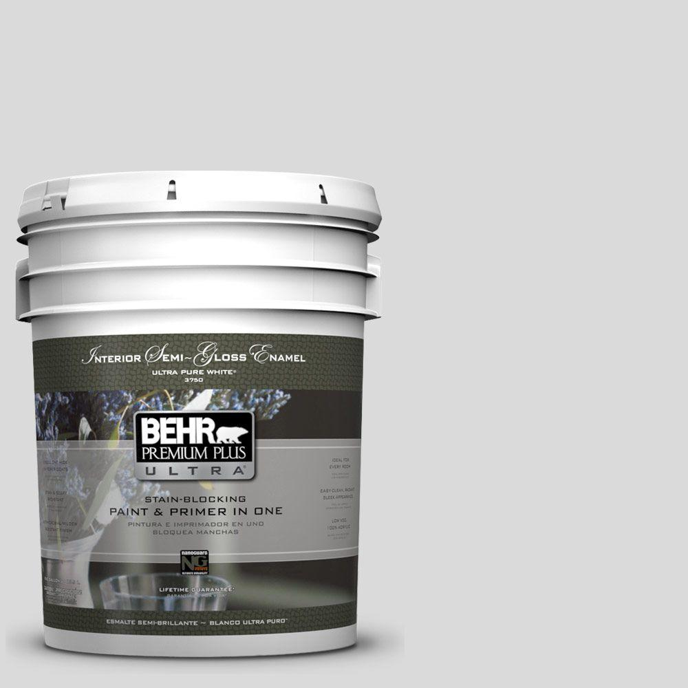 BEHR Premium Plus Ultra 5-gal. #790E-1 Subtle Touch Semi-Gloss Enamel Interior Paint