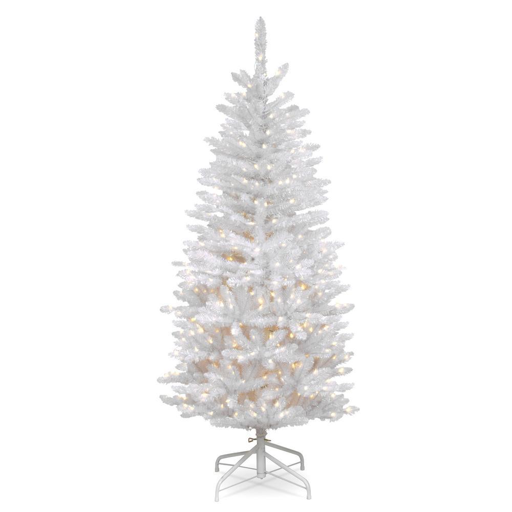 White Fir Christmas Tree: National Tree Company 4.5 Ft. Dunhill Fir Artificial