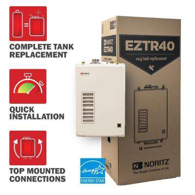 40 Gal. Tank Replacement Liquid Propane Hi-Efficiency Indoor Tankless Water Heater w/ 12-Year Warranty and WiFi Capable