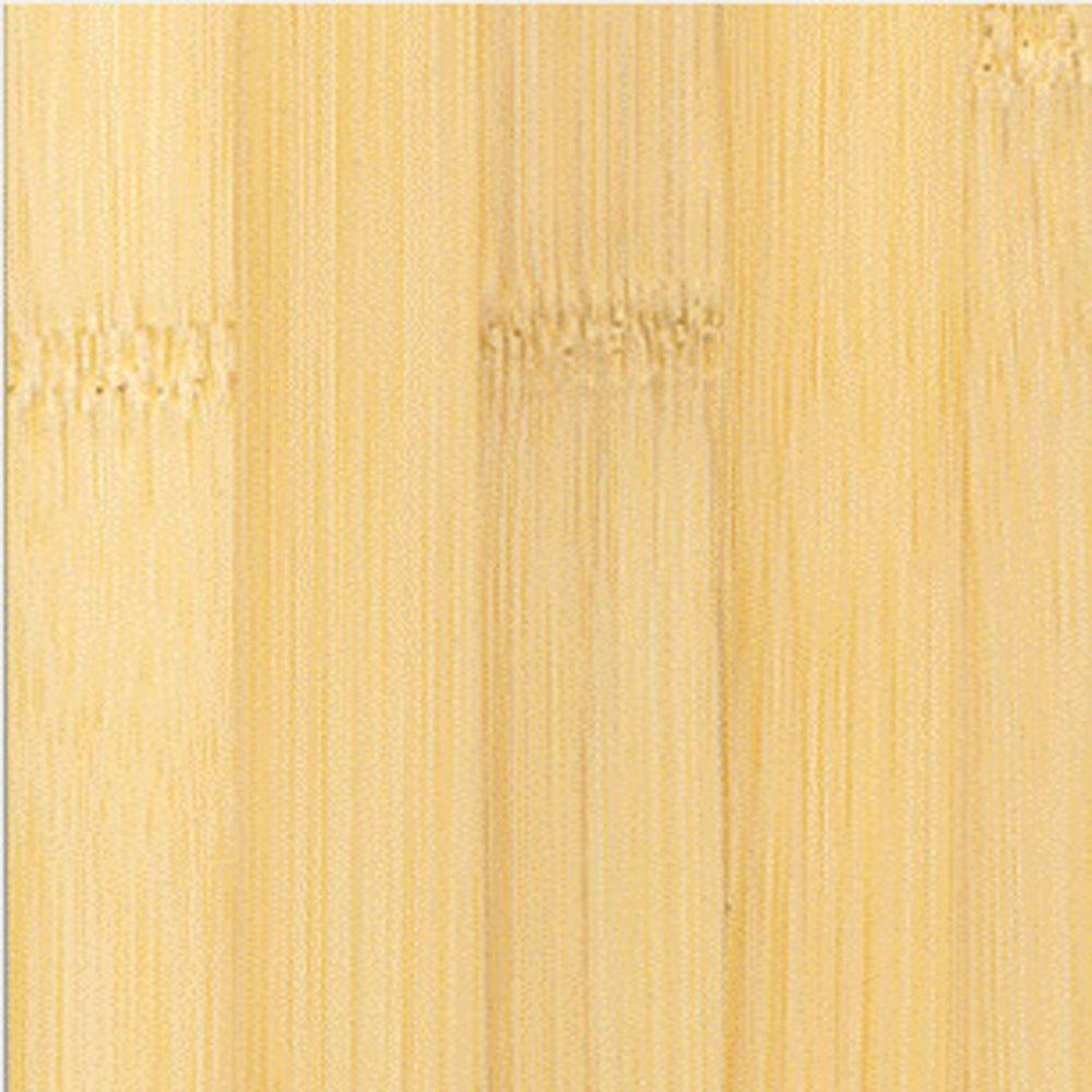 Home Legend Horizontal Natural Solid Bamboo Flooring - 5 in. x 7 in. Take Home Sample