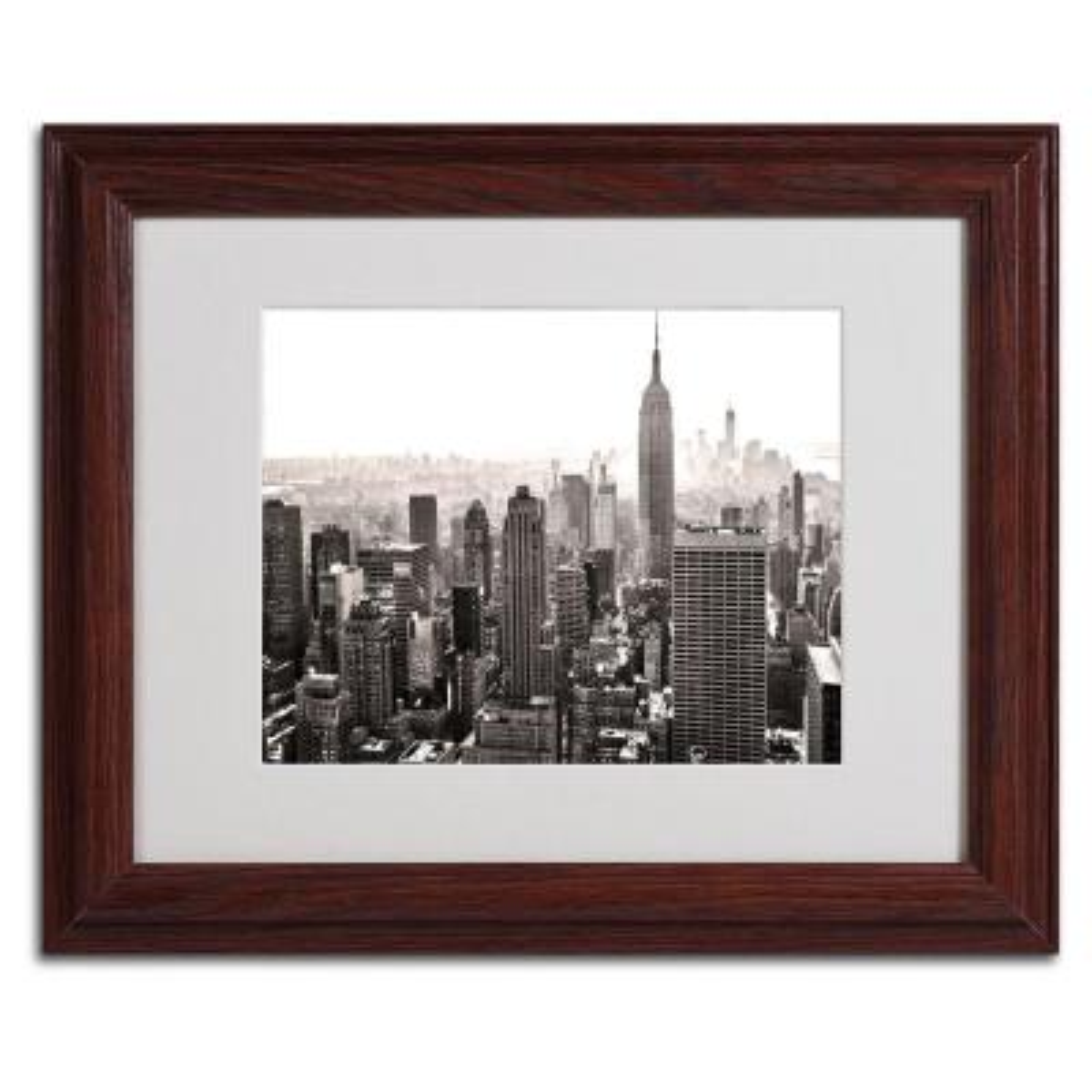 11 in. x 14 in. Manhattan Matted Framed Art