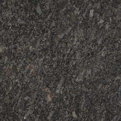 3 in. x 3 in. Granite Countertop Sample in Steel Grey