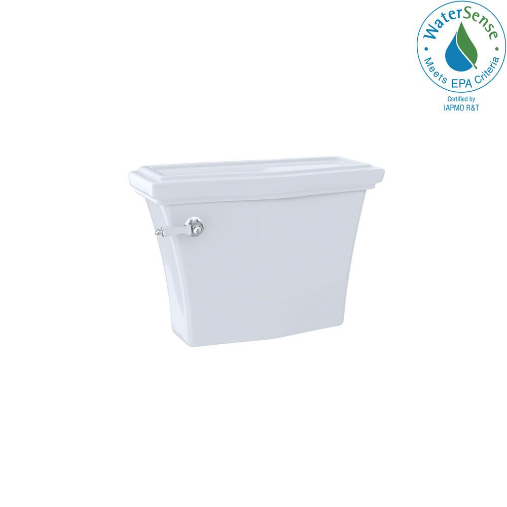 TOTO Clayton 1.28 GPF Single Flush Toilet Tank Only in Cotton White