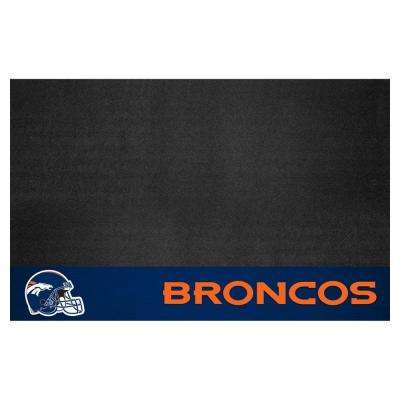 Denver Broncos 26 in. x 42 in. Grill Mat