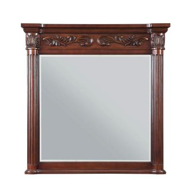 Estates 38 in. L x 36 in. W Single Wall Mirror
