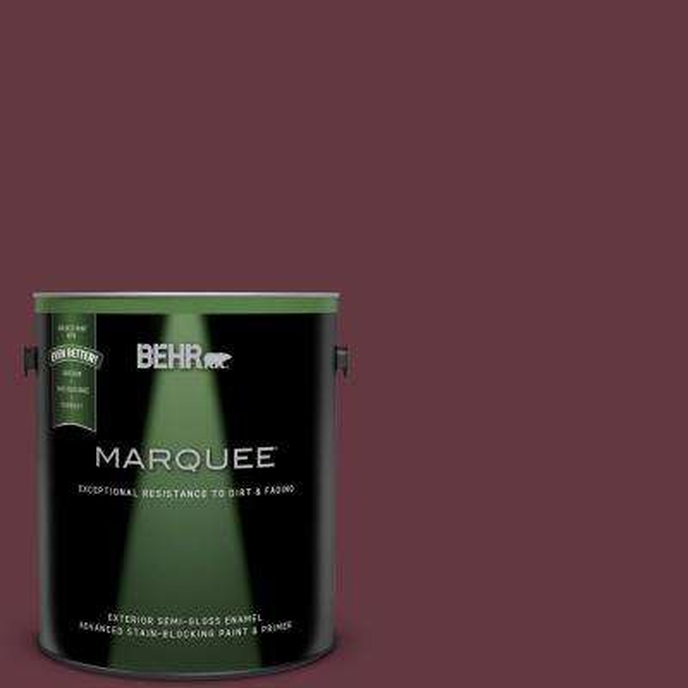 1-gal. #MQ1-14 Twinberry Semi-Gloss Enamel Exterior Paint