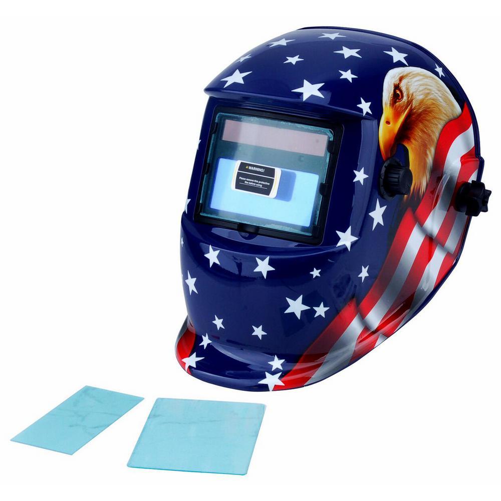 Steel Core Adjustable Auto-Darkening Welding Helmet with ...