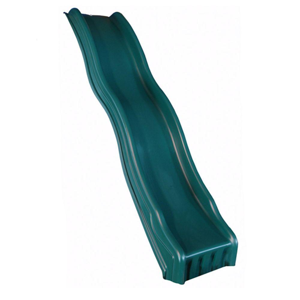 Forest Green Cool Wave Slide