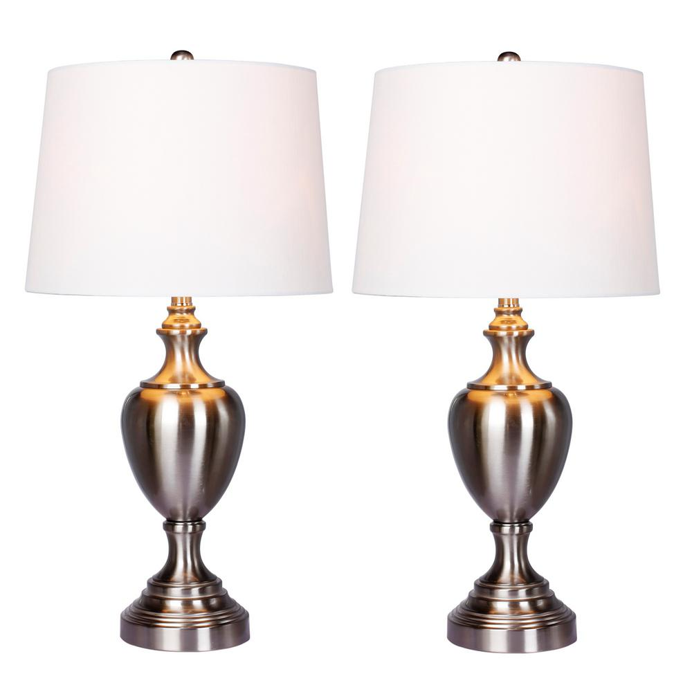 Fangio Lighting 30 In Urn With Pedestal Base Metal Table Lamp 2