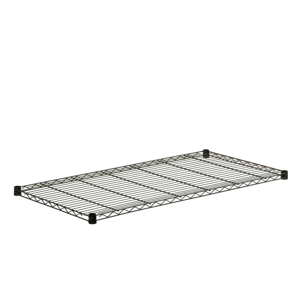 18.75 in. W x 48.62 in. D 250 lbs. Steel Shelf in Black
