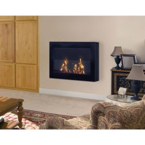 Anywhere Fireplace Soho 28 In Wall Mount Vent Free Ethanol