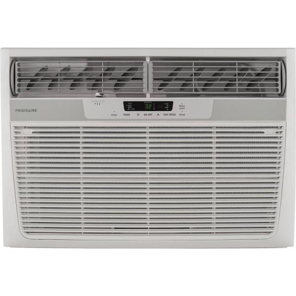 25,000 BTU 230-Volt Window Air Conditioner with 16,000 BTU Supplemental Heat Capability