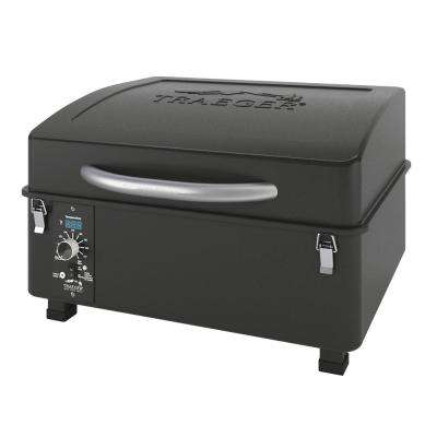 Traeger Scout Pellet Grill and Smoker in Black