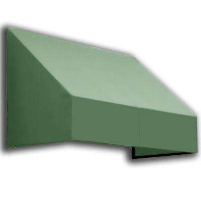 30 ft. New Yorker Window/Entry Awning (44 in. H x 48 in. D) in Olive