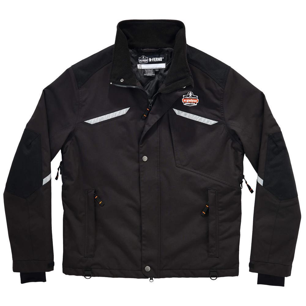 N-Ferno Unisex S Black Thermal Jacket