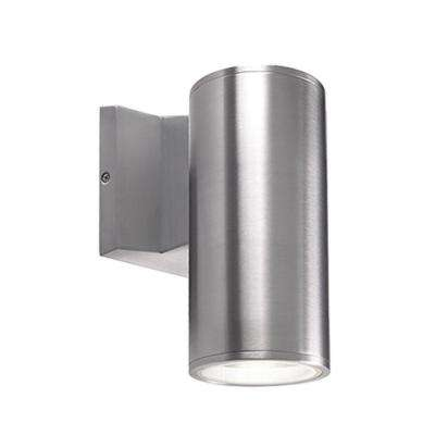 Oswego Silver Outdoor Integrated LED Wall Mount Sconce