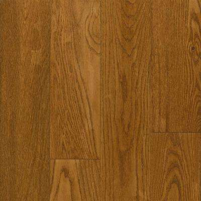 American Vintage Scraped Light Spice Oak 3/8 in. T x 5 in. W x Varying L Engineered Hardwood Flooring (25 sq. ft./case)