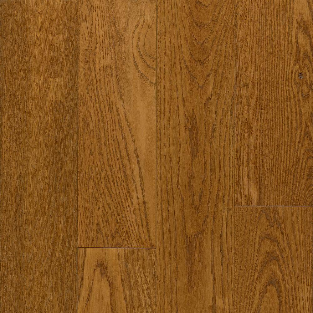 American Vintage Light Spice Oak 3/8 in. T x 5 in. W x Random L Engineered Scraped Hardwood Flooring (25 sq. ft. / case)