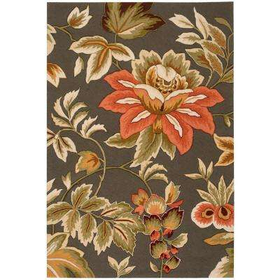 French Country Grey 5 ft. x 7 ft. 6 in. Area Rug