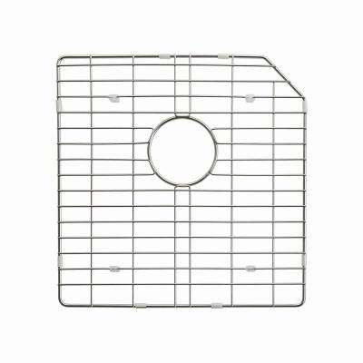 Stainless Steel Bottom Grid for KHU123-32 Left Bowl 32in. Kitchen Sink, 17 5/8in. x 17 5/8in. x 1 3/8in.
