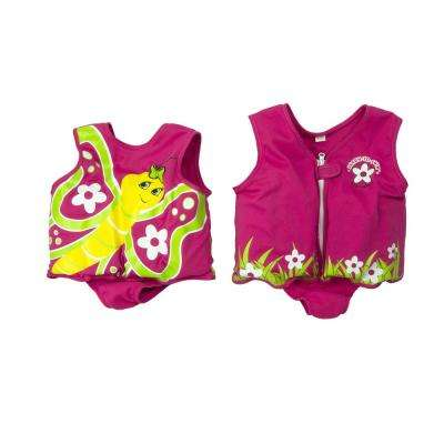 Butterfly Swimming Pool Float Vest 3-6 Years Old