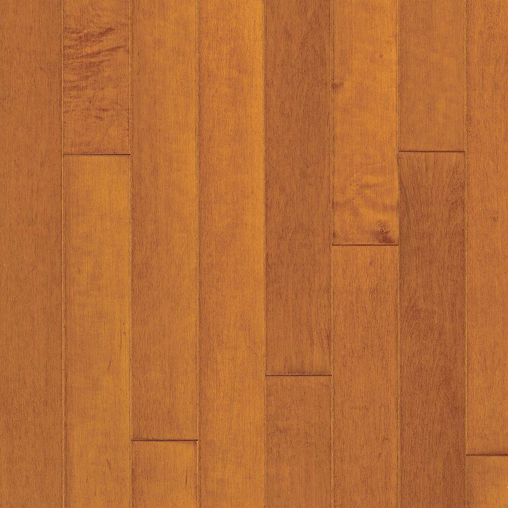 Maple Cinnamon Engineered Hardwood Flooring - 5 in. x 7 in. Take Home Sample