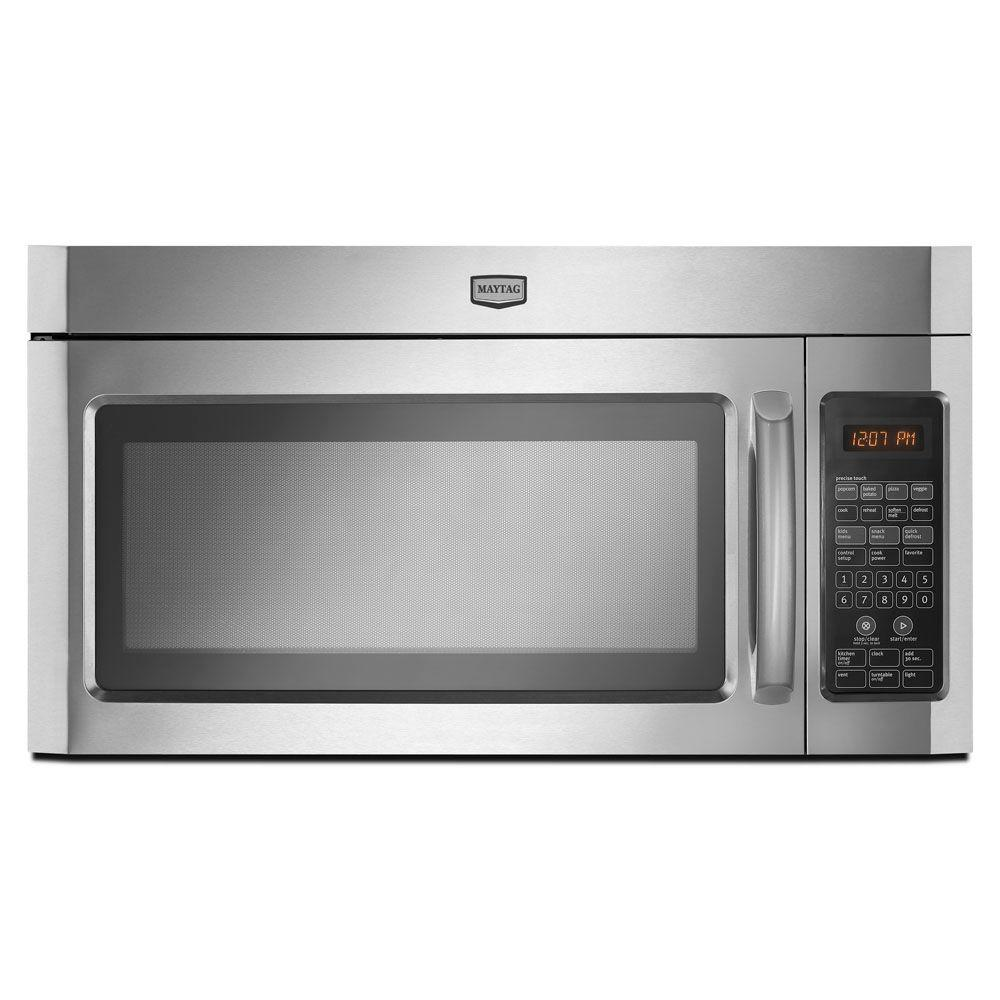 Maytag 2.0 cu. ft. Over the Range Microwave in Stainless Steel-DISCONTINUED