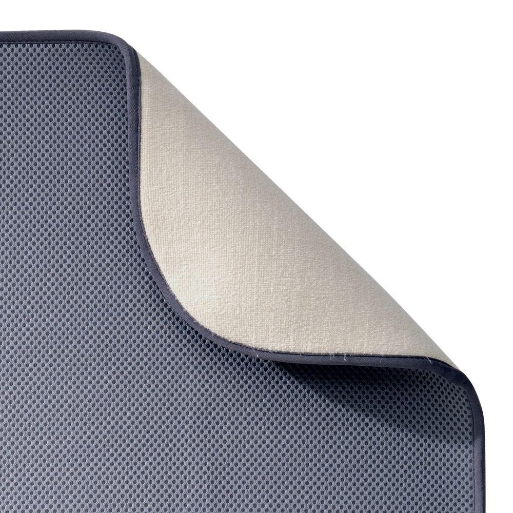 Interdesign Idry Mini 18 In X 9 In Kitchen Dry Mat Solid
