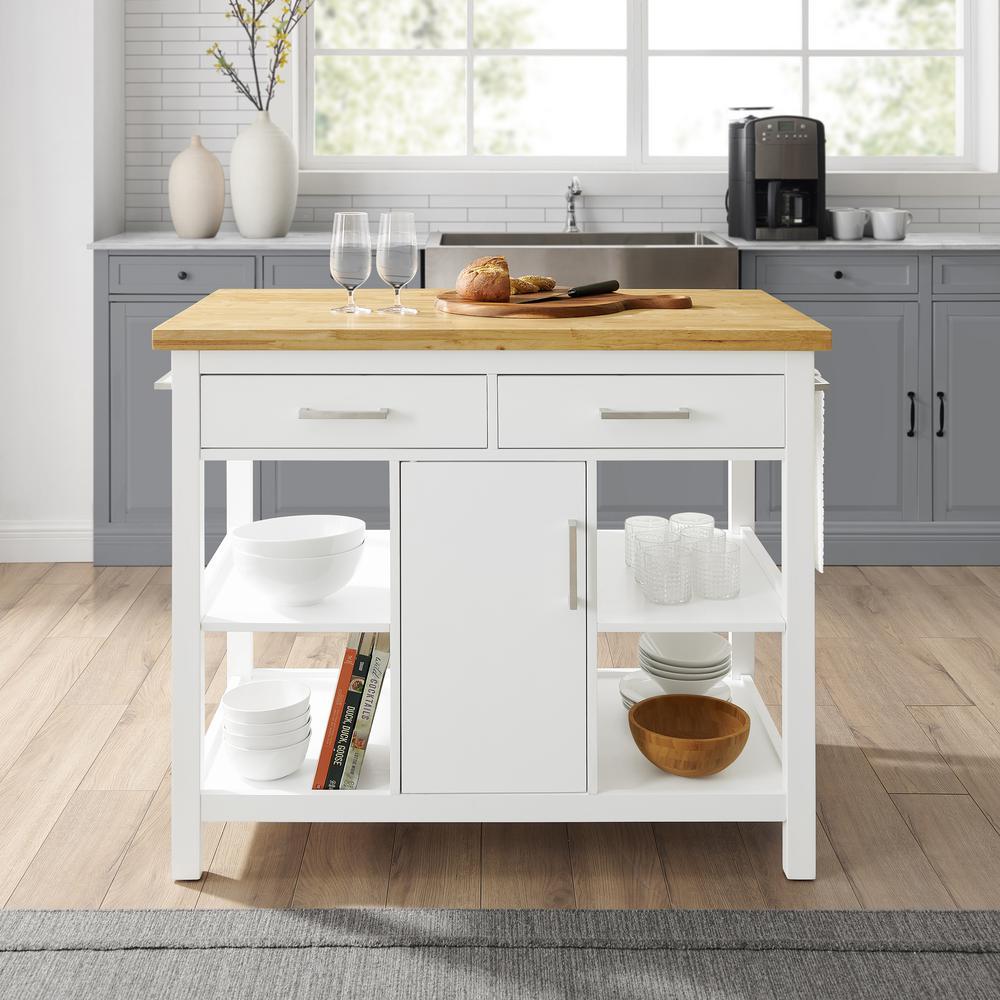 Crosley Furniture Audrey White Kitchen