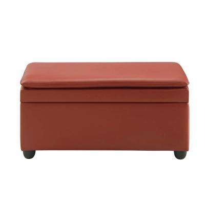 Nitsa Wine PU Storage Bench