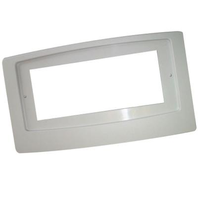 Flush Fit Booster Adaptor Plate in White