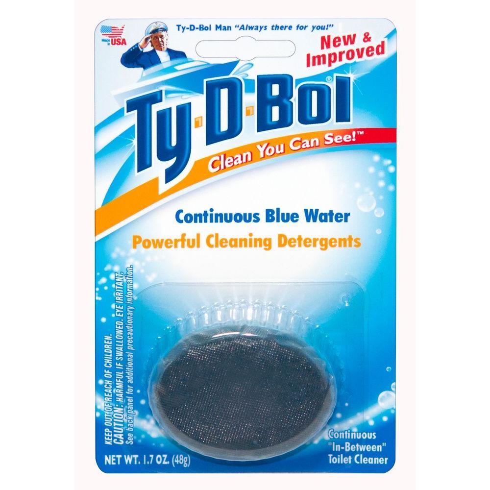 1.7 oz. Toilet Bowl Cleaner Tablet (6- Pack)