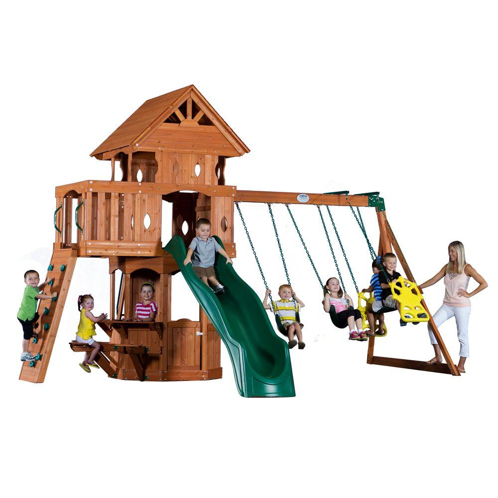 Woodland All Cedar Playset