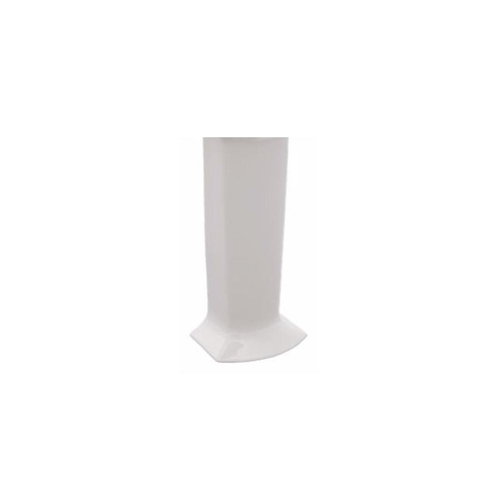 TOTO Soiree Sink Pedestal in Cotton White-PT960#01 - The Home Depot